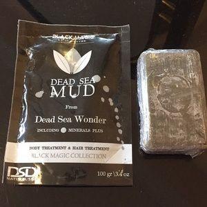 Black Magic Dead Sea Mud and Dead Sea Mud Soap